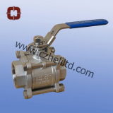 Stainless Steel 3PC Full Port Ball Valve with Thread End