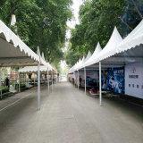 Movable EU Standard Quality Aluminum Frame Gazebo Pogoda Trading Tent