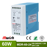 Switched-Mode Power Supply 60W 24V DC Constant Voltage DIN Rail Power Supply