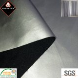 PU Silver Coated Polyester Pongee Blackout Curtain Fabric