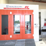 Au Standard Full Downdraft Auto Spray Booth for Sale