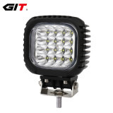 Emark 48W 5inch 12V/24V CREE LED Work Lamp Light for Auto Car Truck Offroad Tractor Forklift (GT1013B-48W)