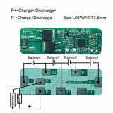 Competitive Price Customized BMS RoHS 5A 6A 7A PCBA Circuit Board 4s