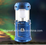 2017 Rechargeable LED Camping Lantern Emergency Solar Lantern