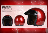 Metal Flake Open Face Helmet for Motorcycle/Bicycle with DOT, Ce Approved.