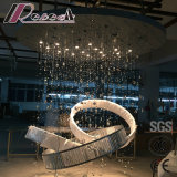 Customized Project Lamps crystal Triangle Strip Circle Lighting Chandelier