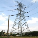 Sturdy Mixture of Angle and Tube Galvanized Steel Electricity Utilities