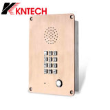 Mini Hotline Telephone Analogue/IP/VoIP Phone Knzd-06 with Illuminated Buttons