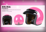 ABS material Open Face Helmet for Motorcycle Parts with Ce Certificated.
