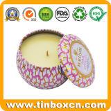 4oz Seamless Scented Candle Tin Box, Metal Travel Tin