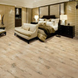 Porcelain Glazed Tile Floor in Wood