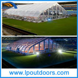 Large 25X25m Clear Curved Sports Tent for Tennis Game