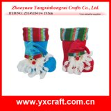 Christmas Decoration (ZY14Y154-3-4) Santa Boot Toy Candy