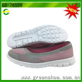Fashion Lady Loafer Shoes Flat Mesh Casual Shoes