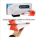 DIY Folding Flying Electric Paper Airplane Gift for Kids