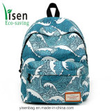 Fashion 600d Polyester Digital Printing School Bag Travel Backpack
