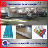 One Layer Transparent PVC Corrugated Sheet Extrusion Machine Line