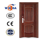 Best Price Security Metal Exterior Steel Iron Door (W-S-80)