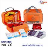 Auto Emergency First Aid Orange Nylon Kit for Car