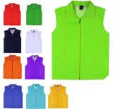 Factory Bulk Production Custom Sleeveless Jacket Safety Waistcoat