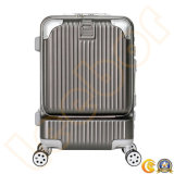 Computer Luggage 20 Inch Aluminium Frame Trolley Business Luggage (L-L8108)