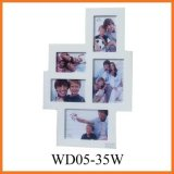 Wooden Collage Phote Frame (WD05-35W)