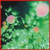 1.6m 54W Beautiful Peach LED Fruit Tree for Garden Decoration (BW-FT014)