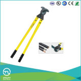 Utl Low Prices Yellow Handle Stainless Steel Electric Cable Cutters