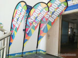 Wholesale Colorful Banner Stand Cheap Beach Flag Teardrop Flags