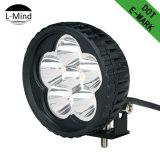 Wholesale Price 18W Round Car Logo Customization LED Work Light 6 LED Light Bulbs