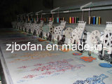 Hot Sale 3 in 1 Computerized Mixed Double Sequin & Towel Flat Embroidery Machine 612