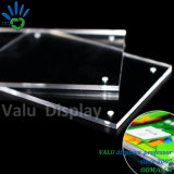 10mm Solid Block Advertise Sign Holder A5 Wholesale Display Magnetic Acrylic Frame