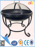 New Steel Metal Fire Pit Covers with Lid