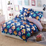Disperse Printing Polyester Fabric Home Textile Bedding Set