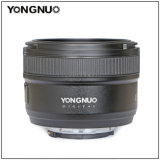 Yongnuo Yn 50mm F1.8 Nikon with a Single Focus Lens Case Standard Lens Nikon