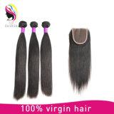 Wholesale Hair Weave Aligned Cuticle Virgin Hair Lace Closure