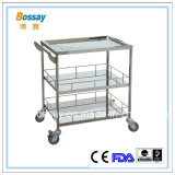 304# Stainless Steel Medical Trolley