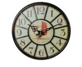 New Style Clock Antique Metal Frame Round Decorative Wall Clock