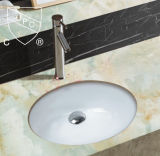 Cupc Certification Bathroom Accessories Oval Ceramic Washbasin (SN004)