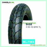 Motorcycle Parts Different Type Wholesale Tire (3.50-10)