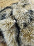 Artificial Color Dying Raccon Faux Fur