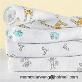 Wholesale Promotional Baby Muslin Blanket Swaddle Blanket with Elegant Design
