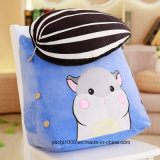 Custom Cartoon Design Plush Stuffed Back Cushion