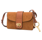 Factory Price Customzied Design Bolso Genuine Suede Leather Sling Bags for Ladies