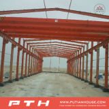Prefabricated Building Project in India Steel Structrue for Warehouse
