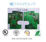 Multilayer 6 Layer PCB Board with High Quality