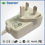 12V 1.5A UK Pin Power Adapter for UK Market