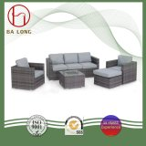 High Quality European Wicker Outdoor Rattan Furniture Garden Sectional Leisure Sofa