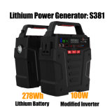 100W AC Continuous Output High Capacity Portable Generator Solar Power