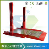Double Layers 2 Post Hydraulic Car Lift Jack